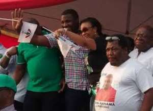 The Political Suicidal Mission Of Nollywood Actress Kate Henshaw, Alesson To Ghana's John Dumelo