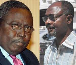Martin Amidu and Alfred Woyome