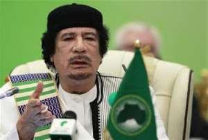 Brother Leader Muammar Gaddafi, our hero
