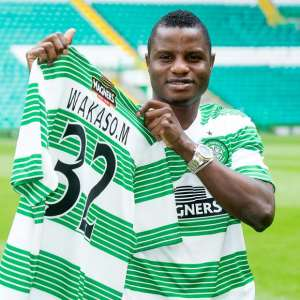 Mubarak Wakaso warms bench on Celtic return in massive win over Ross County