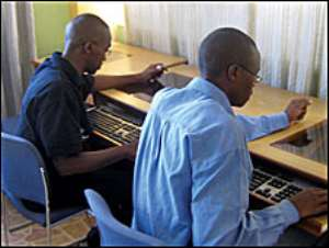 Only a few Kenyans have their own computer