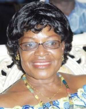 Central Regional Minister, Ama Benyiwa Doe