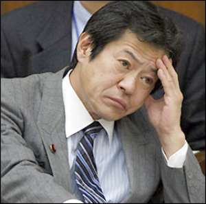 Japan's 'Drunk' Minister Quits
