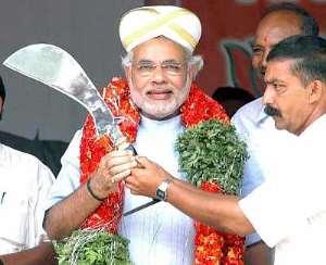 Narendra Modi, Prime Minister meterial of Bhartiya Janta Party
