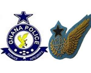 Police and navy clash