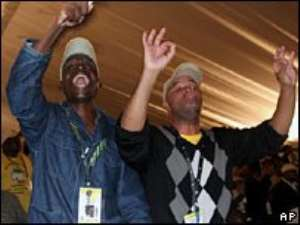 Zuma's supporters celebrate win