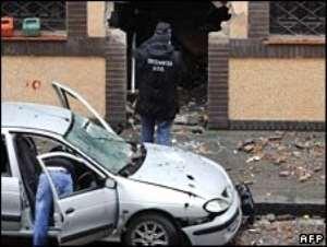 Seven police hurt in Spanish bomb