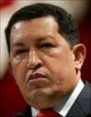 President Chavez freezes ties with Columbia