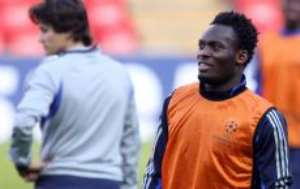 Essien ready for Crouch