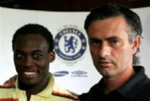 THE SPECIAL ONE AND ESSIEN ARRIVE TODAY