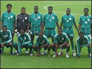NIGERIA FAVOURITES FOR AFRICAN YOUTH CUP