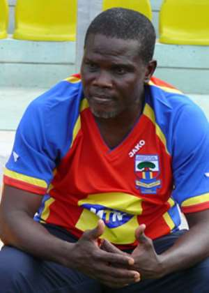 Hearts' coach, Nii Noi Thompson, at wits end?
