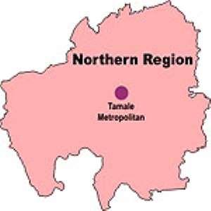 Map of Northern Region