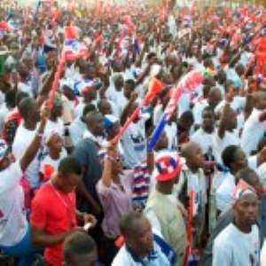 NPP Supporters Stage Demo At Kwesimintsim
