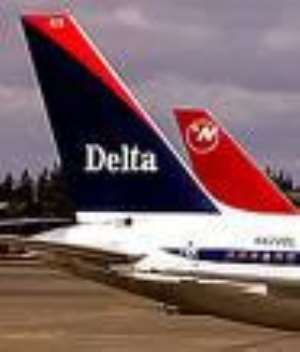 A Delta Airlines jet
