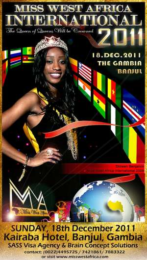 MISS WEST AFRICA INTERNATIONAL 2011; THE HEAT IS ON