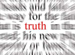 Exposing Lies, Telling The Truth
