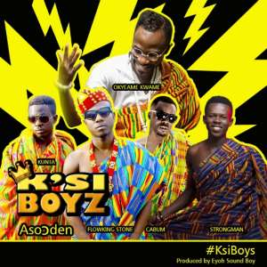 """KsiBoys releases the number 1 trending song; """"Aso)den"""""""