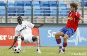 Opare makes Real Madrid bow