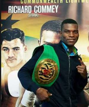 Oblitey Commey inches closer to world title