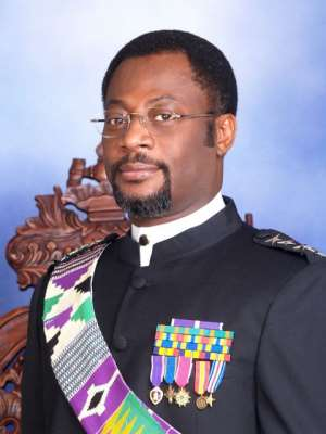 HIS MAJESTY KING ADAMTEY OF GHANA