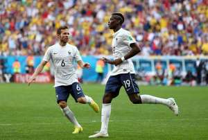 Fired up: Paul Pogba: France fear nobody at FIFA World Cup