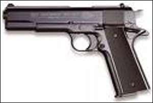 Pistol Trader Grabbed