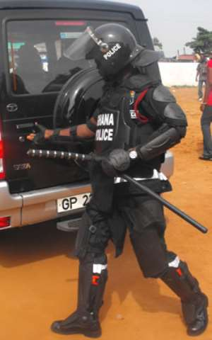 Police search for Agbogbloshie ring leader