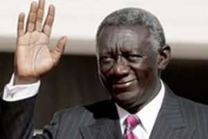 President Kufour Deserves Credit for Peaceful Handover