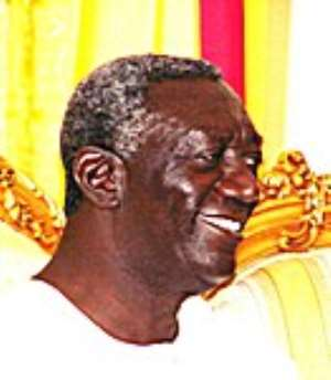 President Kufuor Leaves For The UK