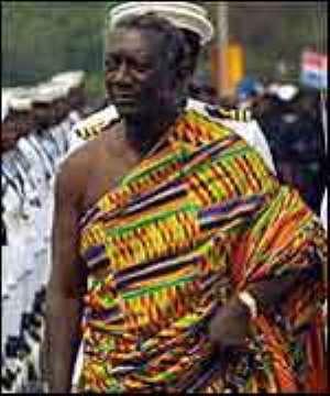 President Kufuor urges Effutus to preserve Aboakyer