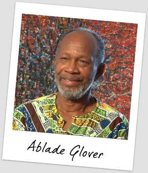 ABLADE GLOVER - THE BLACK STARS OF GHANA
