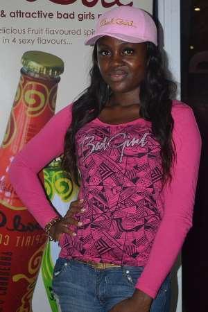 Mel Stephenie Is 'FACE OF BAD GIRL' Drink In Ghana