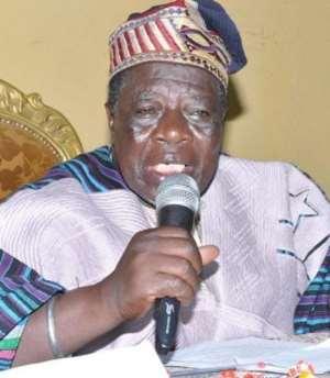 Naa Prof John Nabila-President, National House of Chiefs