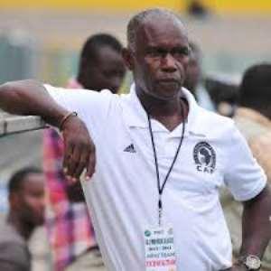 Inter Allies coach Herbert Addo