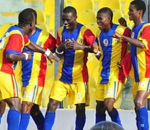 Hearts of Oak manage a point as King Faisal hold them 1 - 1 in March-day-10 of Premier League