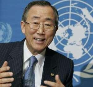 UN Secretary General, Mr. Ban Ki-moon