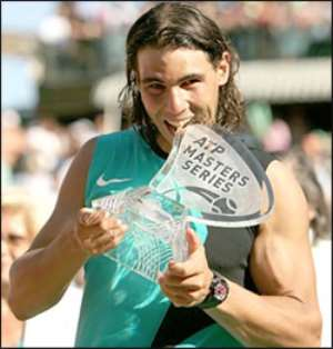 Nadal Seals 5th Monte Carlo Win