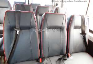 Garages to be certified for seatbelt installation in commercial vehicles