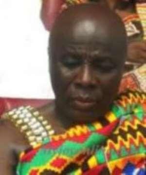 The Okyenhene, Osagyefo Amoatia Ofori Panin who has been fingered in Galamsey operations at Akyem