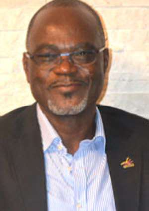 Dr. Kofi Amoah at the celebration of Citizen Kofi's 2 years of existence
