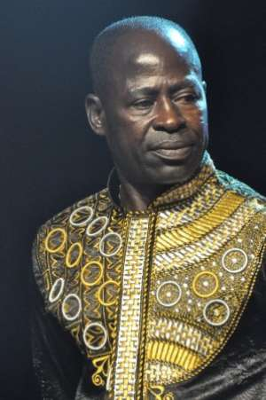 ABRANTIE AMAKYE DEDE READY FOR THE NIGHT OF ROYAL IN NORWAY