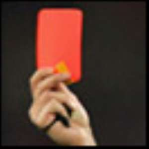 When is a card red or yellow?