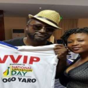 Celebrities Ready For Sanitation Day