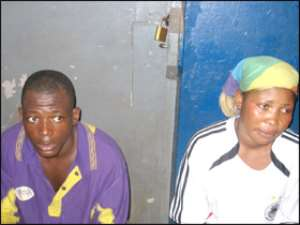 Robber, Girlfriend Arrested