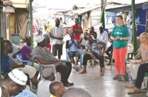 Projects Abroad supports Old Fadama