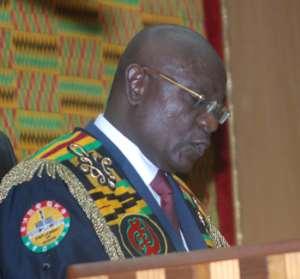 Speaker Takes Over As President