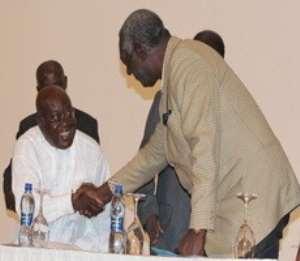 Ex-President Kufuor and Nana Akufo-Addo