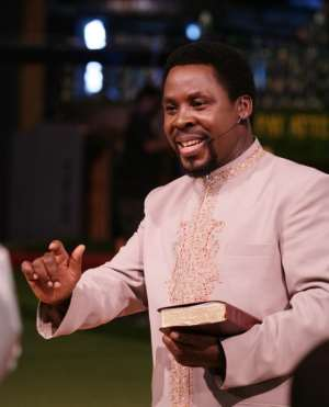 OF TB JOSHUA, SELLAS TETTEH, MEDIA HYPE AND A PROFOUND PROPHECY