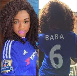 Proud WAG: Baba Rahman's girlfriend celebrates star's debut with new jersey